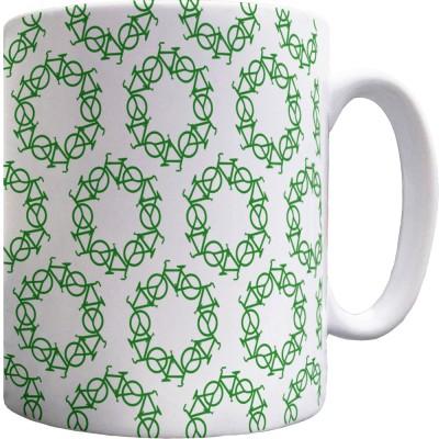 Re-Cycle Pattern Mug