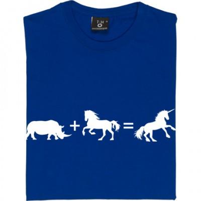 Rhino + Horse = Unicorn