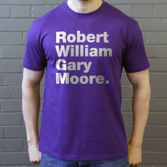 Robert William Gary Moore T-Shirt