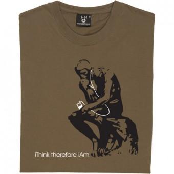 Rodin's I Think T-Shirt