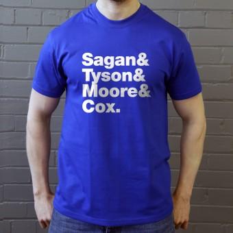 Sagan & Tyson & Moore & Cox T-Shirt