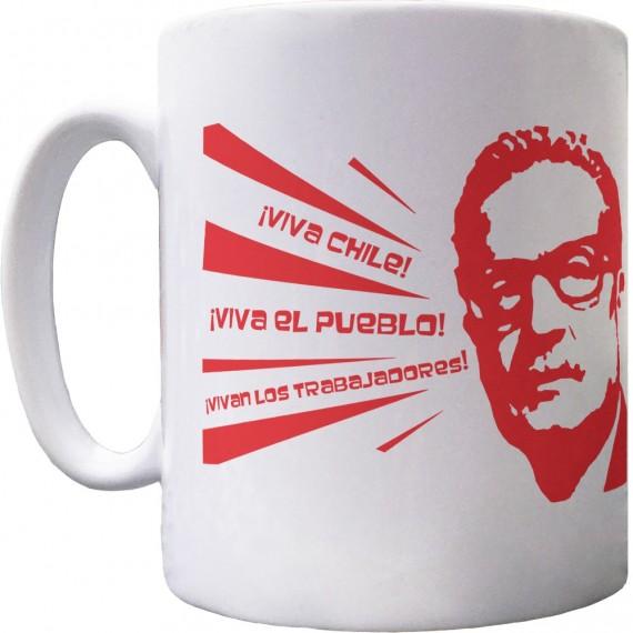 Salvador Allende Ceramic Mug