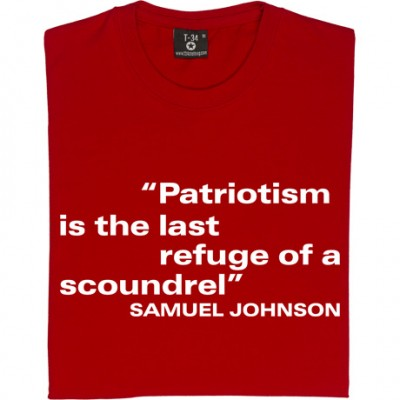"Samuel Johnson ""Patriotism"" Quote"