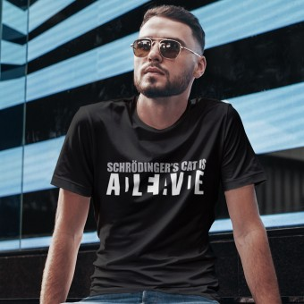 Schrodinger's Cat is Alive/Dead T-Shirt