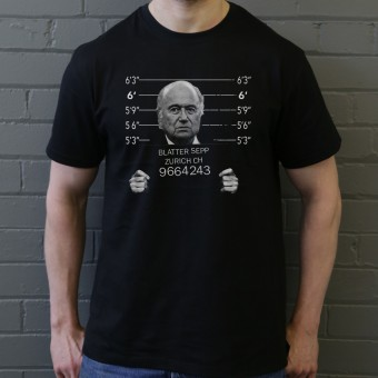 Sepp Blatter Mugshot T-Shirt