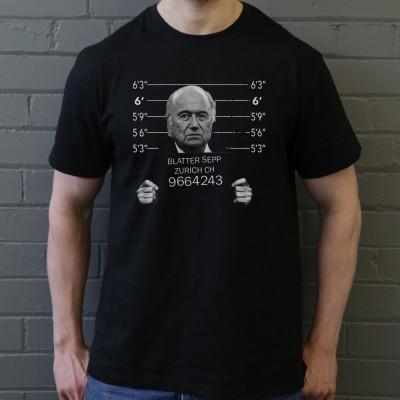 Sepp Blatter Mugshot