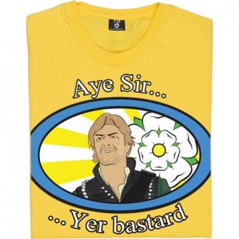 """Sharpe """"Aye Sir, Yer Bastard"""" T-Shirt"""