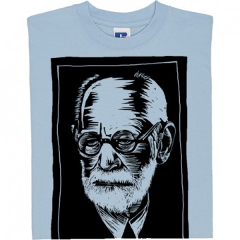 Sigmund Freud Woodcut T-Shirt