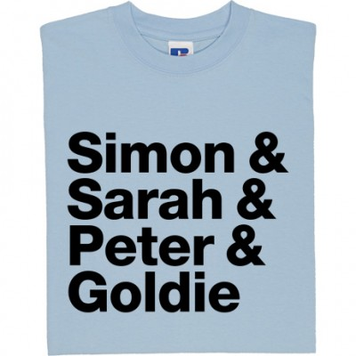 Simon and Sarah and Peter and Goldie