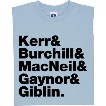 Simple Minds Line-Up T-Shirt