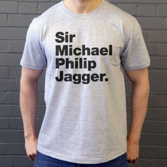 Sir Michael Philip Jagger T-Shirt