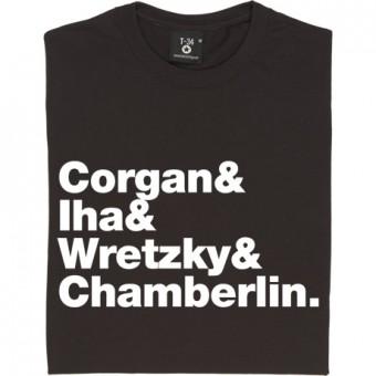 Smashing Pumpkins Line-Up T-Shirt