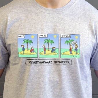 Socially Awkward Shipwrecks T-Shirt