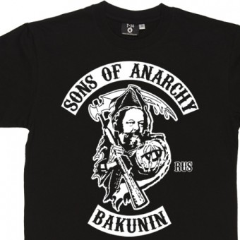 Sons Of Anarchy: Mikhail Bakunin T-Shirt