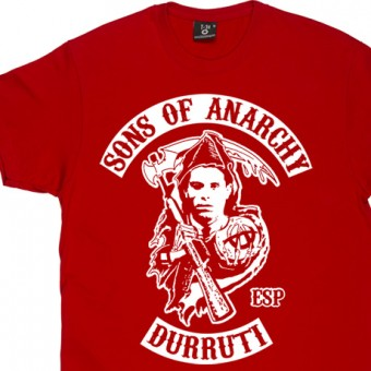 Sons Of Anarchy: Buenaventura Durruti T-Shirt