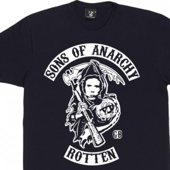 Sons Of Anarchy: Johnny Rotten T-Shirt