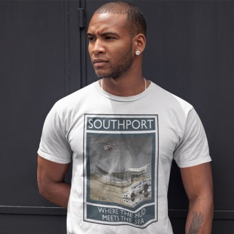 Southport: Where The Mud Meets The Sea T-Shirt