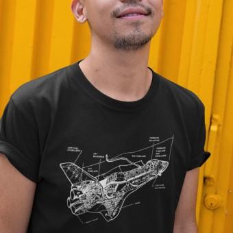 Space Shuttle Diagram T-Shirt