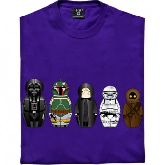 Star Wars Matryoshka Dolls: Dark Side T-Shirt
