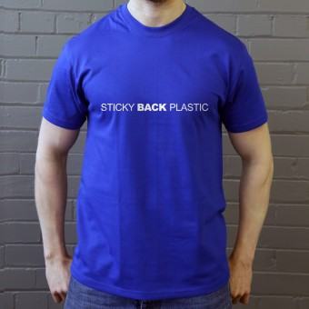 Sticky Back Plastic T-Shirt