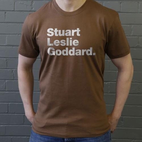 16d505e8 Stuart Leslie Goddard T-Shirt | RedMolotov