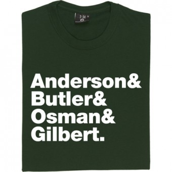 Suede Line-Up T-Shirt