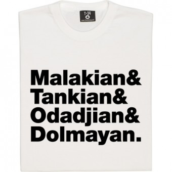 System of a Down Line-Up T-Shirt