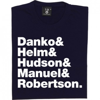 The Band Line-Up T-Shirt