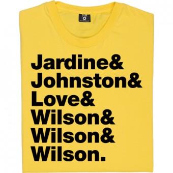 The Beach Boys Line-Up T-Shirt