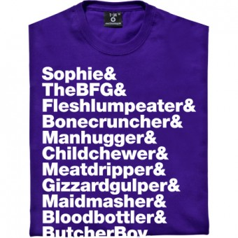 The BFG Line-Up T-Shirt