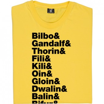 The Hobbit Line-Up T-Shirt