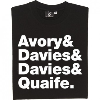 The Kinks Line-Up T-Shirt