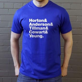 The Marvelettes Line-Up T-Shirt