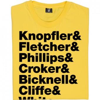 The Notting Hillbillies Line-Up T-Shirt