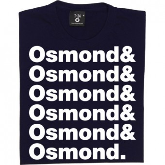 The Osmonds Line-Up T-Shirt