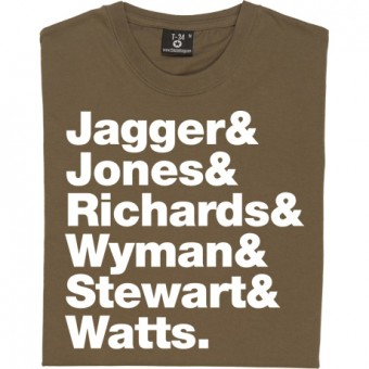 The Rolling Stones Line-Up T-Shirt