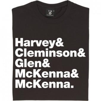 The Sensational Alex Harvey Band Line-Up T-Shirt