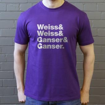 The Shangri-Las Line-Up T-Shirt
