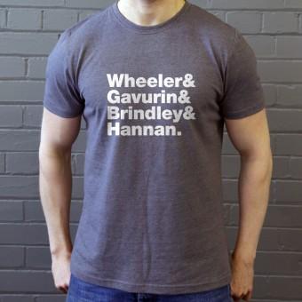 The Sundays Line-Up T-Shirt
