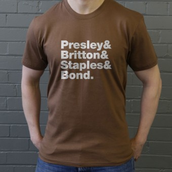 The Troggs Line-Up T-Shirt