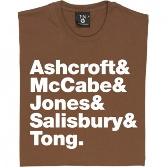 The Verve Line-Up T-Shirt