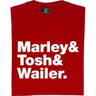 The Wailers Line-Up T-Shirt