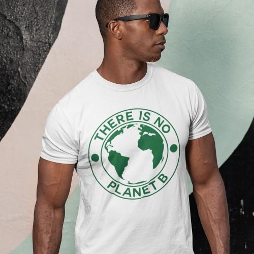 ce58050294 There Is No Planet B T-Shirt   RedMolotov