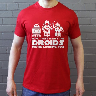 Nope, These Aren't The Droids We're Looking For