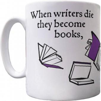 They Become Books Ceramic Mug