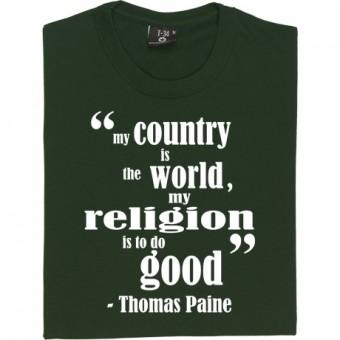 "Thomas Paine ""Religion"" T-Shirt"