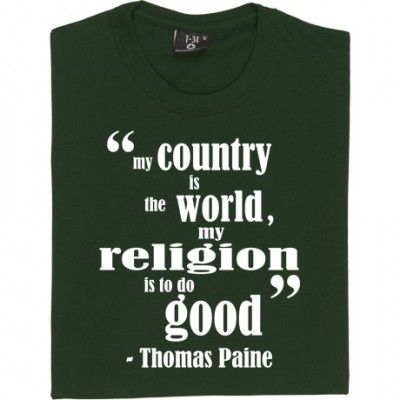 "Thomas Paine ""Religion"""