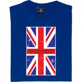 People Who Enjoy Waving Flags T-Shirt