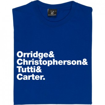 Throbbing Gristle Line-Up T-Shirt