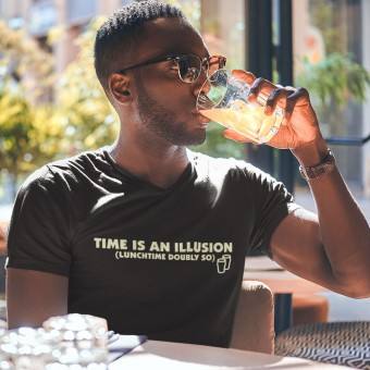 Time is an Illusion (Lunchtime Doubly So) T-Shirt
